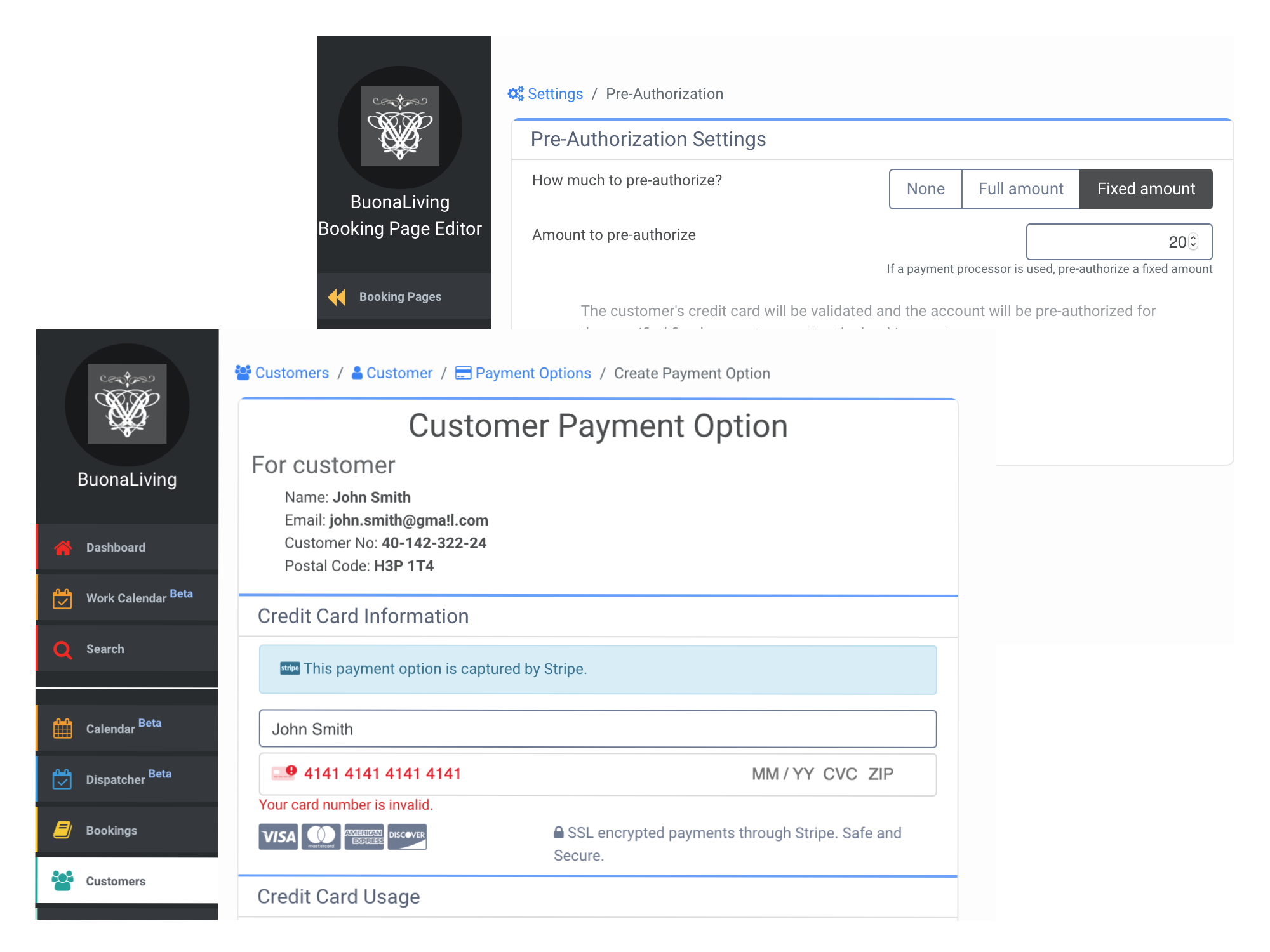 H2 payment processing