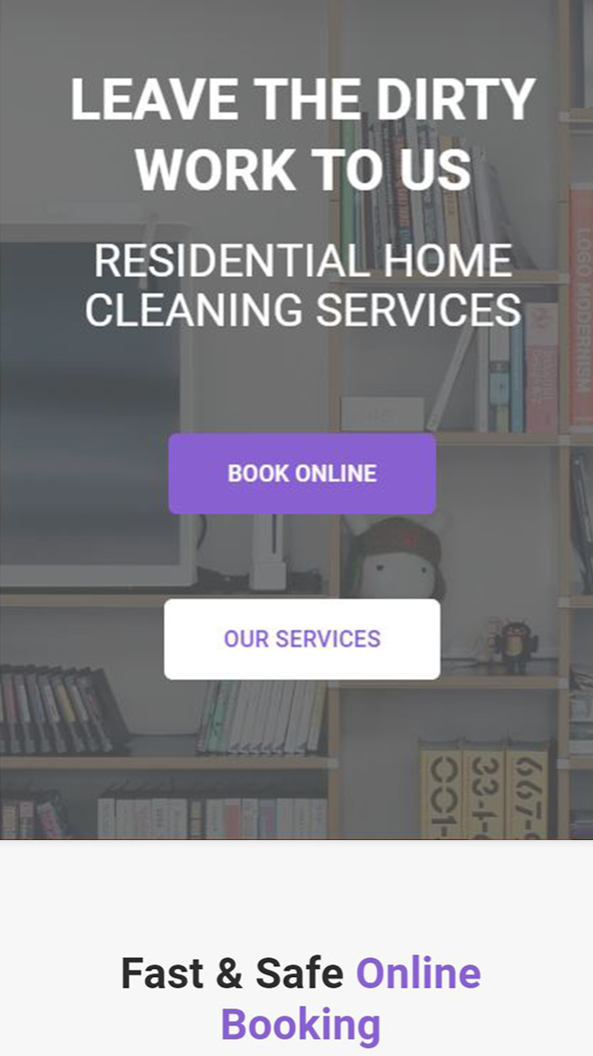 MOBILE Home Page banner