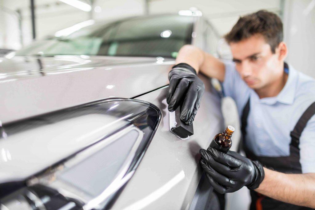Car detailing software