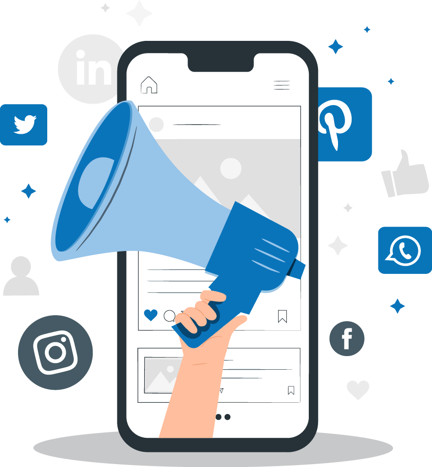 Use different marketing platforms to spread your information