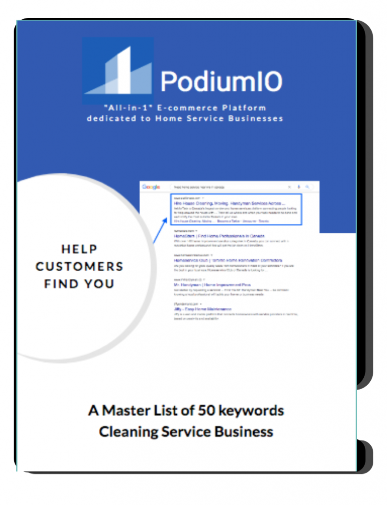 50 keywords for Home Cleaning Business Image