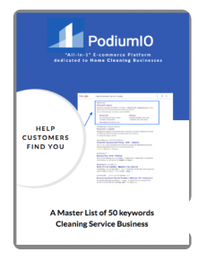 50keywords for maid service by PodiumIO